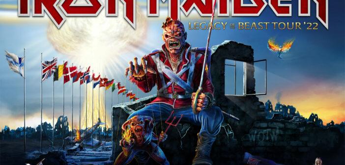 Iron Maiden: Legacy Of The Beast Summer Tour Europa wird auf 2022 verschoben!